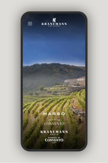 Kranemann Wine Estates website